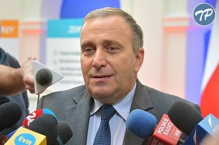 Grzegorz Schetyna nie kandyduje na szefa PO.