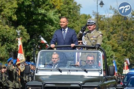 Udział Prezydenta RP w obchodach Święta Wojska Polskiego.