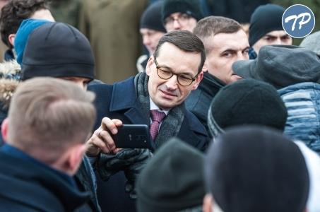 Wizyta premiera Mateusza Morawieckiego w woj. śląskim.