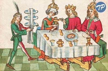 Przy książęcym stole - wernisaż z degustacją potraw przyrządzonych na styl średniowieczny.