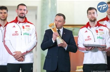 Wasz sukces pokazuje, że Polacy są wielcy, że potrafią zwyciężać.