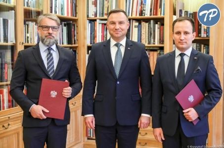 Rafał Kos i Mariusz Rusiecki nowymi Doradcami Prezydenta RP.