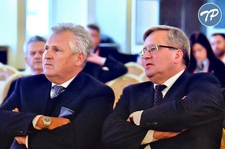 Debata prezydentów o premierze Tadeuszu Mazowieckim.