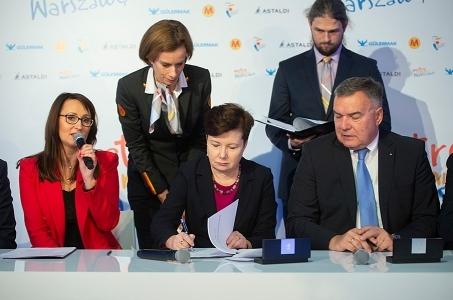 Warszawa. II linia metra z nowym STP.