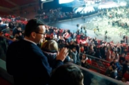 Udział premiera Mateusza Morawieckiego w Koncercie dla Niepodległej.