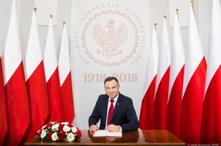 Prezydent podpisał deklarację o restytucji Pałacu Saskiego.
