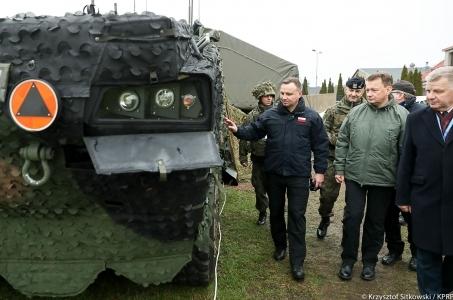 Wizyta w Dowództwie Wielonarodowej Dywizji w Elblągu.