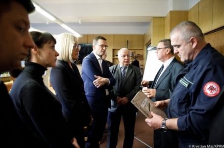 Tragedia w kopalni w Karwinie: Premier Mateusz Morawiecki na miejscu zdarzenia.
