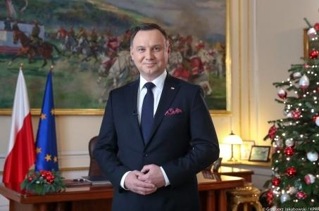 Orędzie noworoczne Prezydenta RP Andrzeja Dudy.