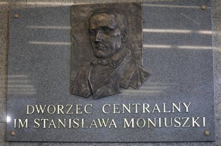 Warszawa. Stanisław Moniuszko patronem Dworca Centralnego.