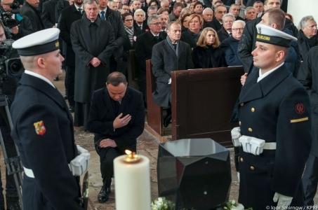 Ostatnie pożegnanie Pawła Adamowicza.