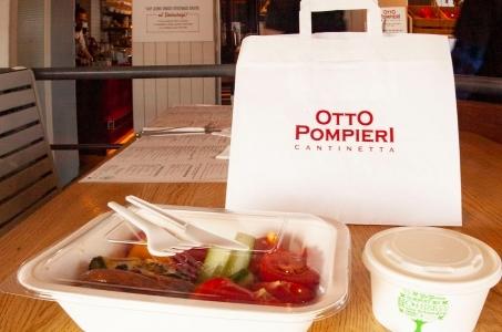 Otto Pompieri wycofał plastikowe słomki i wprowadził ekologiczne opakowania.