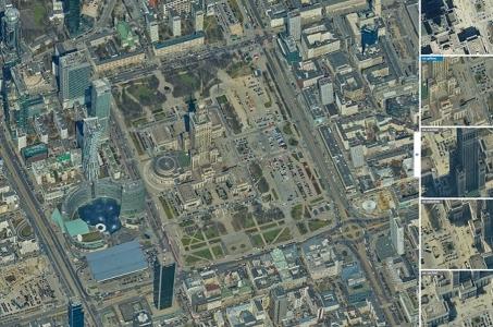 Warszawa z kilku perspektyw.