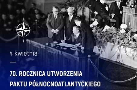 70. rocznica utworzenia NATO.