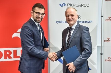 ORLEN Paliwa i PKP CARGO zacieśniają współpracę w zakresie logistyki i transportu.
