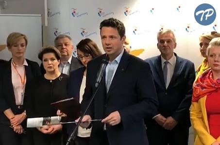 Warszawa. Strajk przebiega spokojnie.
