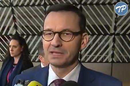 Premier Morawiecki: Twardy Brexit byłby niedobry dla naszych obywateli.