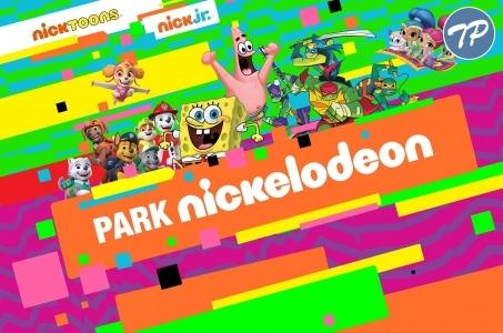Warszawa-Ochota. Park Nickelodeon w Blue City.
