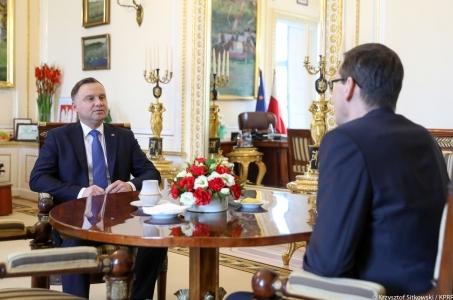 Prezydent zgłosił swoje propozycje ws. rekonstrukcji rządu.