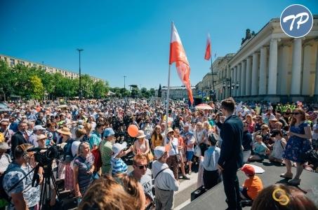 Warszawski Marsz dla Życia i Rodziny 2019.