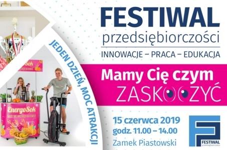 Już w sobotę Festiwal Przedsiębiorczości w Raciborzu - moc atrakcji i mega konkurs!