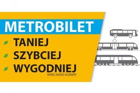 Śląskie. Metrobilet już w sprzedaży!