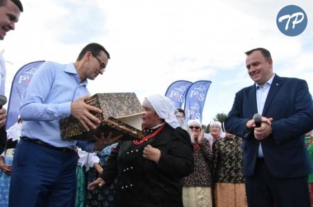 Śląskie. Premier odwiedził gminę Bojszowy.