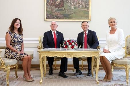 Wizyta Wiceprezydenta USA w Polsce.