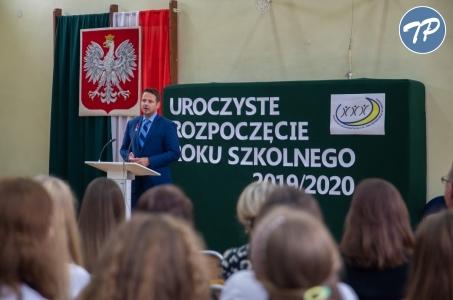 Warszawa. Rok szkolny rozpoczęty.