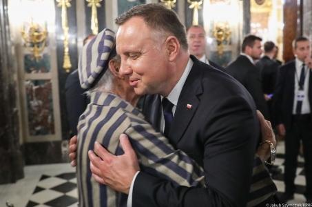 Prezydent Andrzej Duda spotkał się z Edwardem Mosbergiem.
