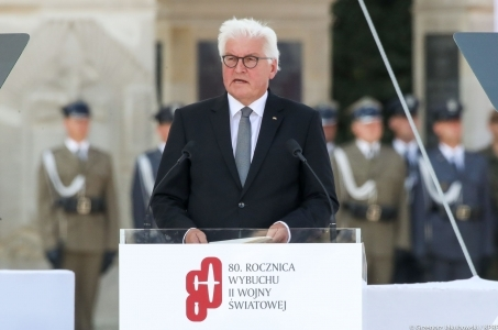 Przemówienie Prezydenta Niemiec w Warszawie na obchodach 80. rocznicy wybuchu II WŚ.