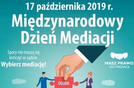 Tydzień Mediacji 2019-lista wydarzeń Sądu Rejonowego w Raciborzu.