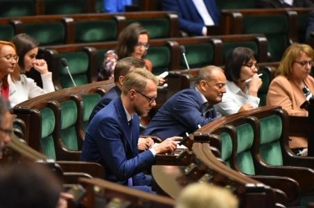 Sesja wprowadzająca dla nowo wybranych posłów IX kadencji Sejmu.