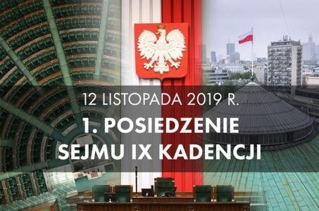 Inauguracja IX kadencji Sejmu.