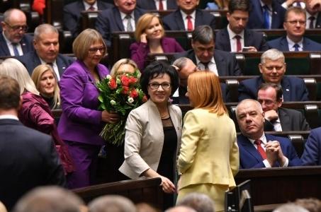 Inauguracja Sejmu IX kadencji.