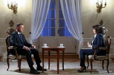 Wywiad Prezydenta RP dla TVP.