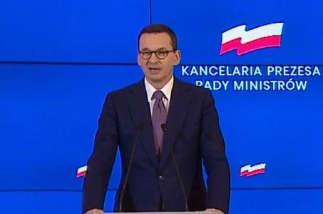Mateusz Morawiecki: Rząd wzywa Rosję do natychmiastowego wycofania się z planów interwencji zbrojnej na Białorusi.