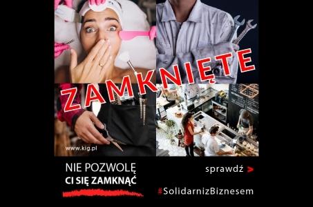 Warszawa. Nie pozwolę ci się zamknąć - wsparcie mikroprzedsiębiorców.
