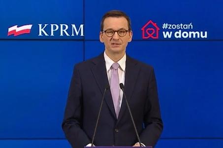 Mateusz Morawiecki: Przesuwamy egzaminy maturalne i egzaminy 8-klasistów.