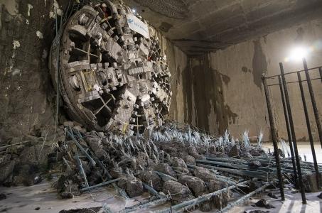 Warszawa. Maria zakończyła drążenie pierwszego tunelu.