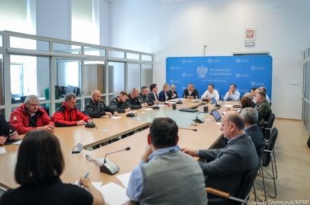 Prezydent o pomocy w związku z powodziami w Małopolsce.