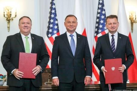 Umowa o wzmocnionej współpracy obronnej z USA podpisana.