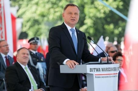 Święto Wojska Polskiego w 100. rocznicę Bitwy Warszawskiej.