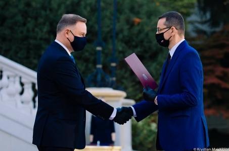 Mateusz Morawiecki o zmianach w składzie Rady Ministrów.