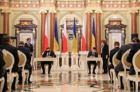 WSPÓLNA DEKLARACJA PREZYDENTA RZECZYPOSPOLITEJ POLSKIEJ ANDRZEJA DUDY I PREZYDENTA UKRAINY WOŁODYMYRA ZEŁENSKIEGO.