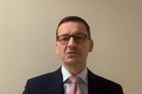 Mateusz Morawiecki na kwarantannie.
