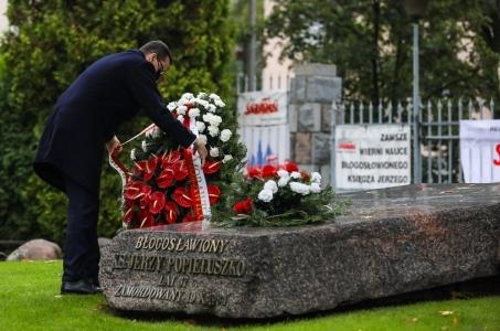 Mateusz Morawiecki: Dzisiaj szczególnie modlę się o szybką kanonizację ks. Jerzego.