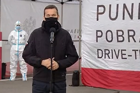 Mateusz Morawiecki: Do walki z koronawirusem dołączają Wojska Obrony Terytorialnej.