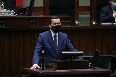 Mateusz Morawiecki o sytuacji epidemicznej w Polsce.
