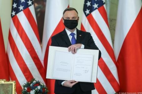 Polsko-amerykańska umowa o wzmocnionej współpracy obronnej ratyfikowana.
